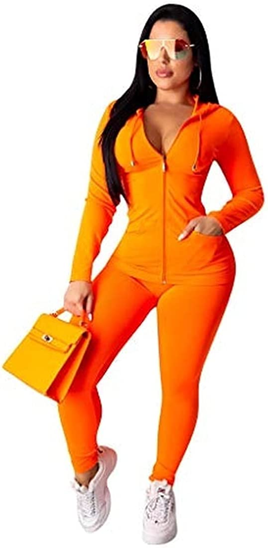Coloraole Women's Fort Worth Mall 2-piece sexy Ranking TOP15 hoodie sportswear sleeve sui long