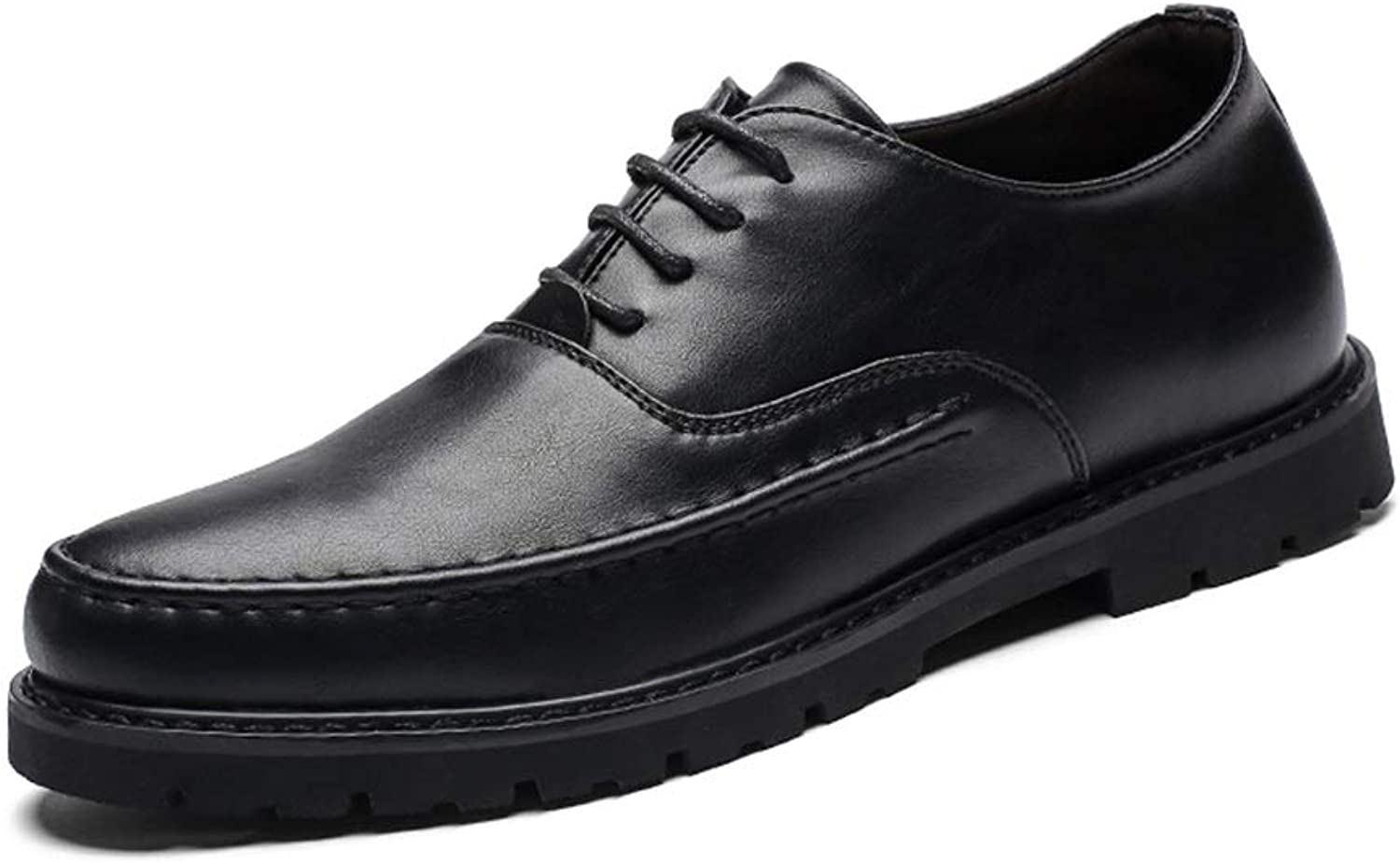 Ino Unassailable Antislip Business Oxford for Men Stately Dress shoes Lace up Microfiber Leather Outdoor Wedding