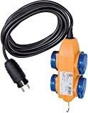 Brennenstuhl BN-EXT05 cable de extensión de 5 m h07rn-f 3g1.5 ip44 amarillo