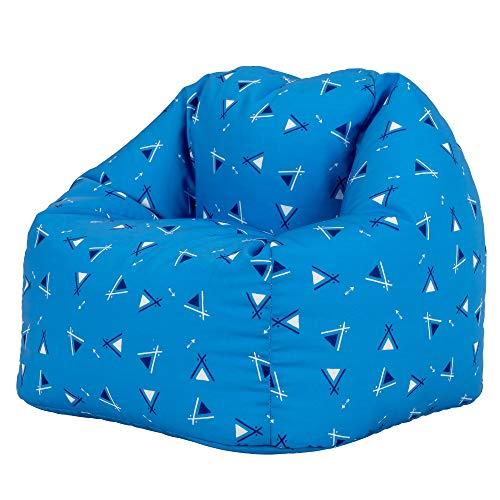 """Icon Sitzsäcke für Kinder """"Zelt"""", Mittelgroß Groß, Wasserabweisend, Sitzsäcke für den Innen- und Außenbereich, Sitzsäcke für das Wohnzimmer"""