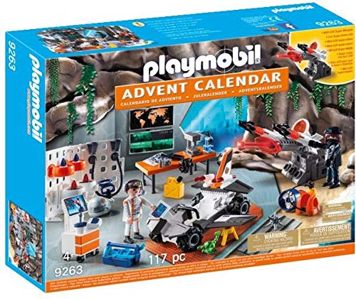 Playmobil Advent Calendar Top Agents with LED Super Weapon