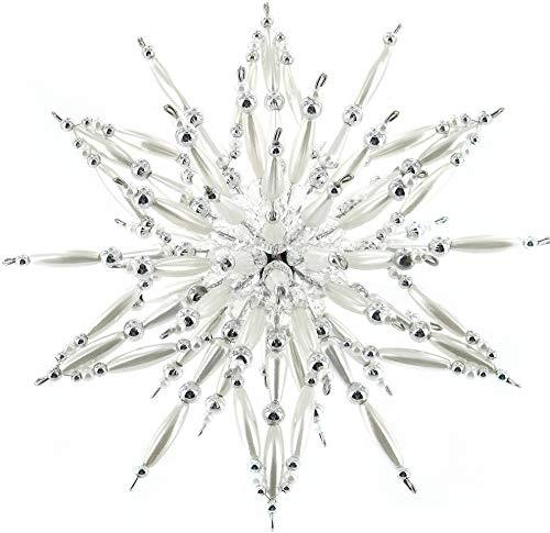 Rudolf Vater GmbH & Co. KG Set Complet étoile en Perle « Silver-White »
