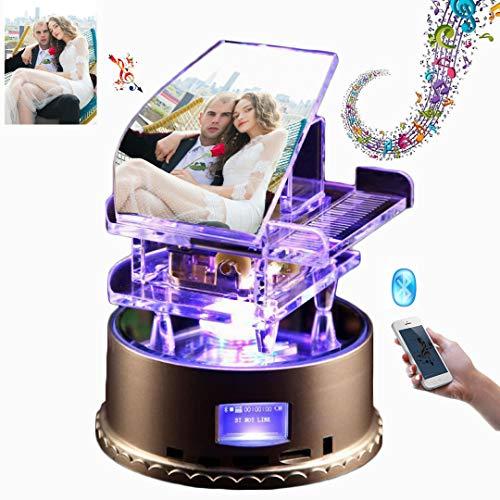 Luz LED nocturna de 7 colores personalizada Lámpara 3D Luz de foto de
