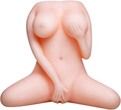 sweet124043 Lifesize Beautiful Woman Torso Lovely Dolls Adult Toy for Men Male Six Toys Female Pussycat Torso Love Toy Gifts for Man Male Funny Lifelike Adult Toy Full Body - Discreet Packag - Flesh