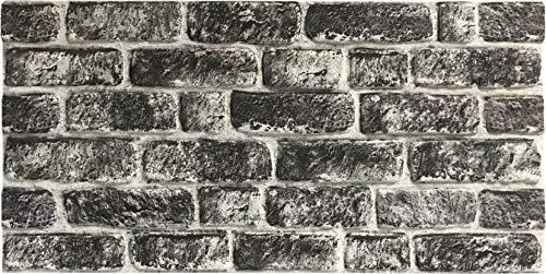 Steinoptik Wandverkleidung für Wohnzimmer, Küche, Terrasse oder Schlafzimmer in Klinkeroptik Look. | 100cm x 50cm (ST 161)