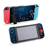 SUPNON Carry Case Compatible with Nintendo Switch, Ultra Slim Hard Shell, Protective Carrying Case for Travel - Abstract Atom Array Science Chemical Design28002