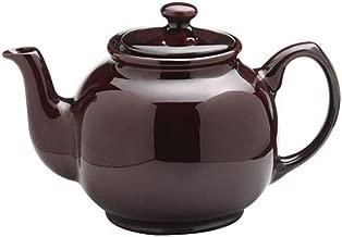 Price & Kensington Rockingham Gloss 'Brown Betty', 6 cup / 1200ml, Teapot