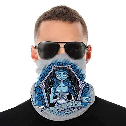 BIZHUDP Forever Dead The Corpse Bride Variety Head Scarf Face Mask Magic Headwear Neck Gaiter Face Bandana Scarf