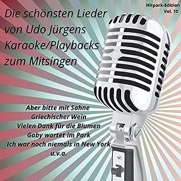 Hitpark Edition, Vol. 10 (Die schönsten Lieder von Udo Jürgens zum Mitsingen)