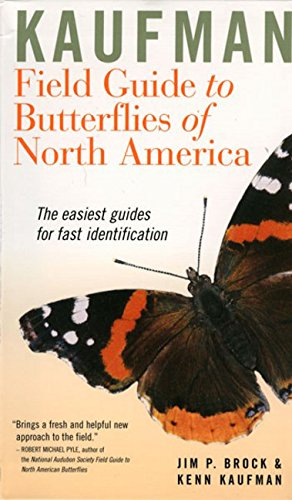 Kaufman Field Guide to Butterflies of North America (Kaufman Focus Guides)