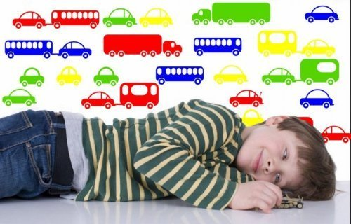 Toy Cars And Buses - 21 Colourful Wall Sticker For Kids Room / Nursery (Small: 30cm x 20cm) by Broomsticker