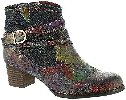 Spring Step damen& 039;s L& 039;Artiste, Shazzam Ankle Stiefel Navy Multi 4 M