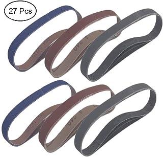 """1-1//2 x 24/"""" abrasive sanding belts 60 grit fits Craftsman sander 10 pcs"""
