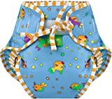 Kushies Swim Diaper, Goldfish Print, Medium