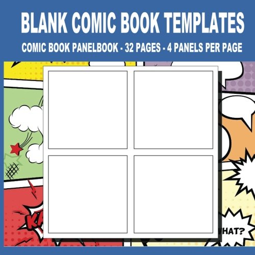 Blank Comic Book Templates: 8.5 x 8.5, 32 Pages For for School / Teacher / Office / Student / Artist (Volume 2)