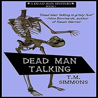 Dead Man Talking audiobook cover art