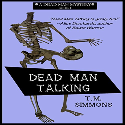 Dead Man Talking audiobook cover art