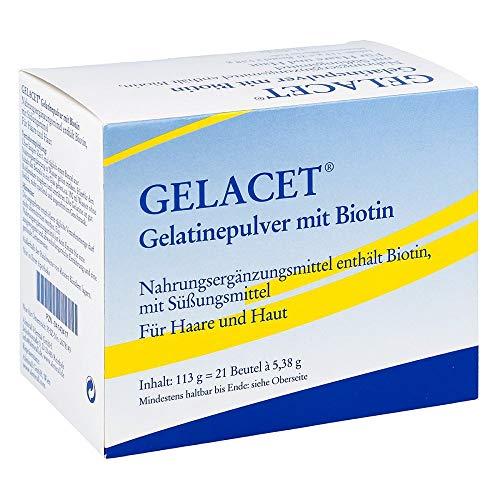 Gelacet Gelatinepulver mit Biotin, 21 St. Beutel