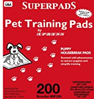 Superpads Original 22 x 23-Inch Pet Training Pads, by SUPERPADS