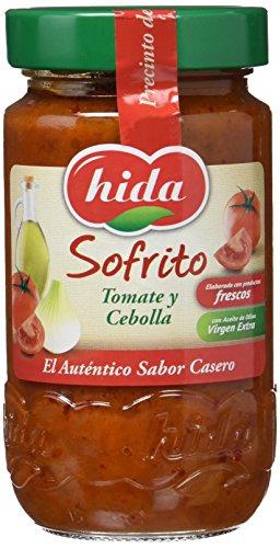 Hida Sofrito Tomate y Cebolla - Paquete de 6 x 350 gr - Total: 2100 gr