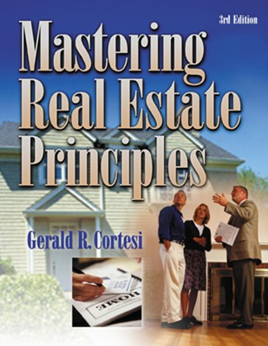 Download Mastering Real Estate Principles 0793187664