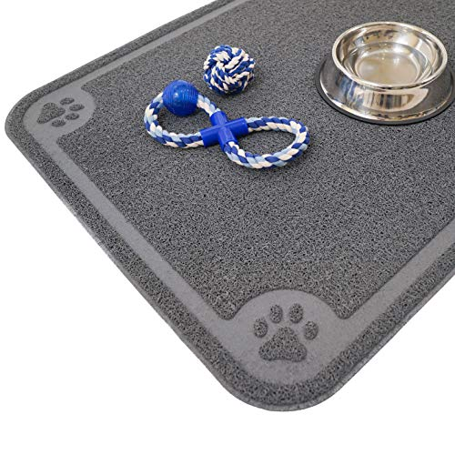 Cavalier Pets, Dog Bowl Mat for Cat and Dog Bowls,...