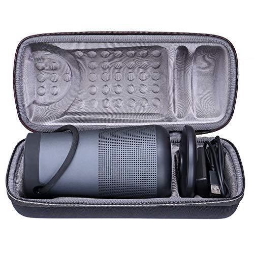 XANAD Duro Viaggio Trasportare Custodia per Bose SoundLink Revolve Plus Diffusore Bluetooth - Protettivo Caso Borsa Scatola (Grigio)