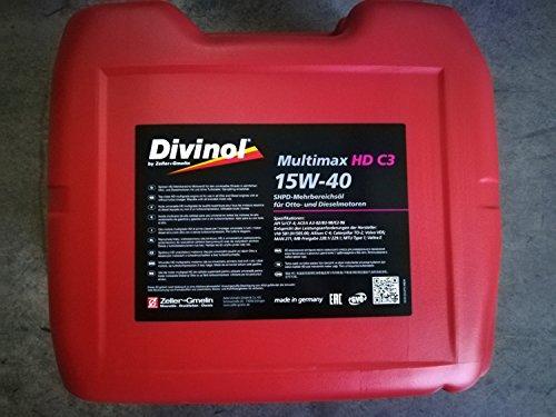 Divinol 49670 20-Liter Multimax HD C3 15W-40 Motoröl Motorenöl