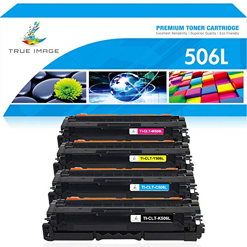 True Image Kompatibel Tonerpatrone Replacement für Samsung CLT-K506L CLT-506L CLT-Y506L CLT-M506L CLT-C506L Samsung CLX-6260FW CLX-6260ND CLX-6260FD CLX6260FR CLX-6260 CLP-680ND CLP-680DW CLP-680