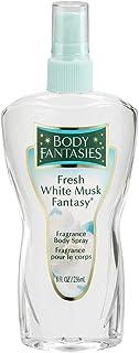 Body Fantasies Fresh White Musk Fantasy Body Spray - 236 ml