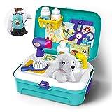GizmoVine Spielzeug für Kinder Hundespielzeug Doctor Kit Spielzeug, Tierpflege-Spielset Pretend...
