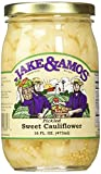 Jake & Amos Pickled Sweet Cauliflower, 16 Oz. Jar (Pack of 2)...