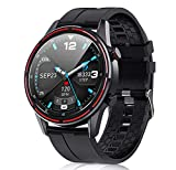 Smart Watch for Android iOS Phones, Marshell Fitness Watch with Body Temperature Blood Pressure Oxygen Monitor for Men Women, Waterproof Outdoor Activity Fitness Tracker, Smartwatch with Sleep Monitor