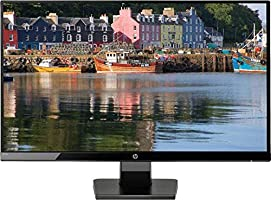HP 27W Display Monitor LED,FHD, 27 Inches,IPS, 1 HDMI, 1 VGA, Black - 1JJ98AA