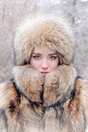 Amazon Com Real Fur Hat Womens Winter Hats Handmade