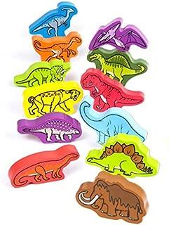 Hape Prehistoric Dinosaurs Toddler Wooden Activity Block Set