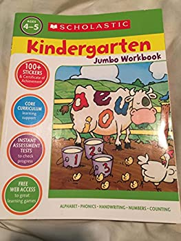 Unknown Binding Scholastic Kindergarten Jumbo Workbook Book