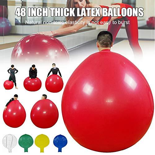 Horloges Latex Klimmen in Ballon, 48 Inch Latex Klimmen in Ballon Latex Ballon Verdikt voor Party Home