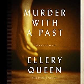 Murder with a Past audiobook cover art