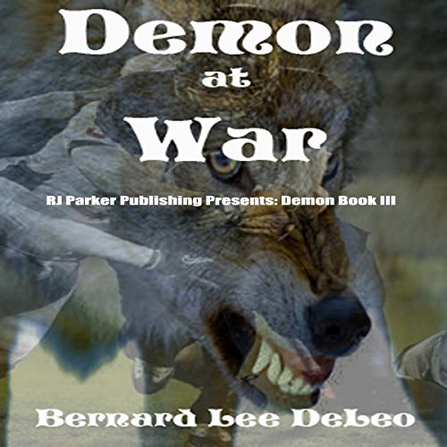 Demon at War audiobook cover art