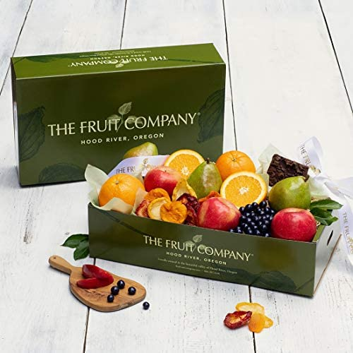 Kosher Gift Box The Fruit Company Chocolate Covered Blueberries Chocolate Ganache Brownie Dried product image