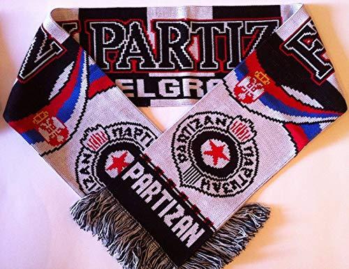 Partizan Belgrad Schal Fanschal Fussball Schal