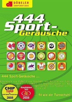 Preisvergleich Produktbild 444 Sport Geräusche,  CD-ROM Fit wie ein Turnschuh. MP3 unterstützende Software für PC und Mac