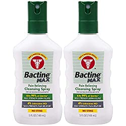 Is it safe to use Bactine on dogs? 2 bottles of Bactine spray