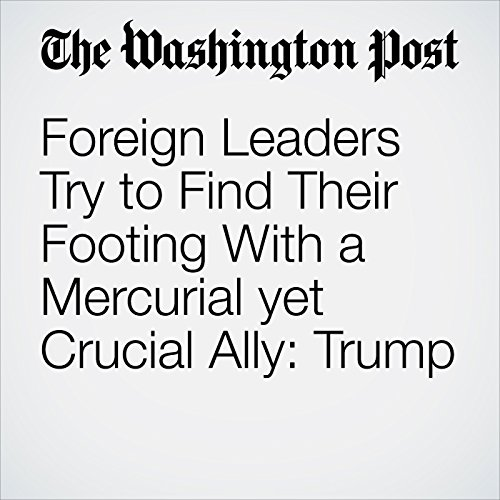 Foreign Leaders Try to Find Their Footing With a Mercurial yet Crucial Ally: Trump copertina