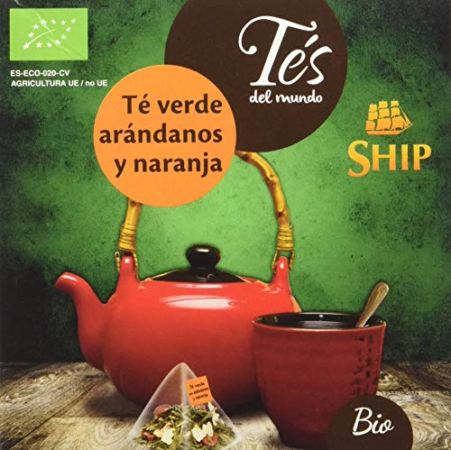 Ship C/ 15 Piramides Te Verde Arandanos