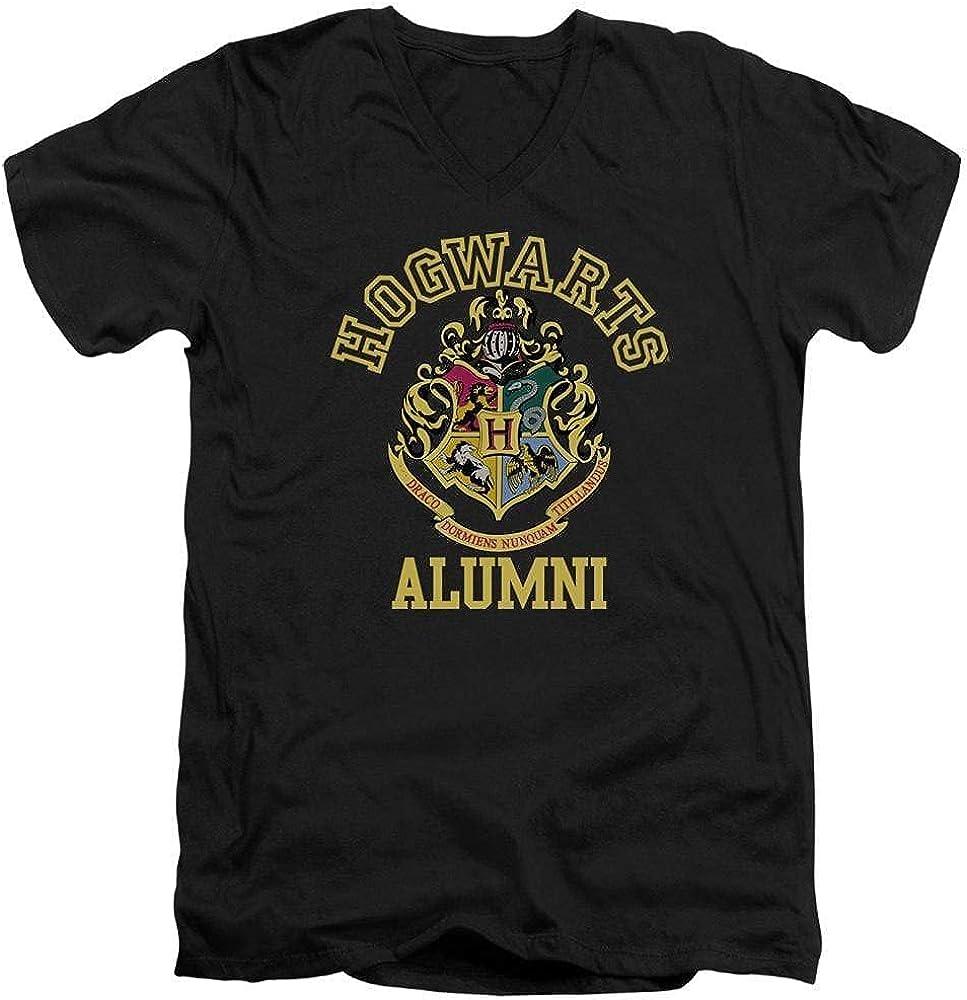 Sons of Gotham Harry Potter - Hogwarts Alumni Adult V-Neck T-Shirt