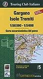 Gargano. Isole Tremiti 1:50.000-1:5000. Carta escursionistica del parco. Con Libro: Guida del parco