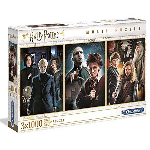 Clementoni- Harry Potter Rompecabezas (61884)