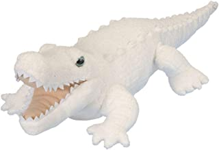 Wild Republic White Alligator Plush, Stuffed Animal, Plush Toy, Gifts for Kids, Cuddlekins 12 Inches